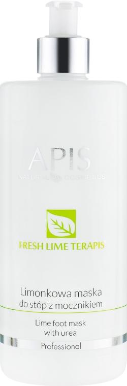 Маска для ног с мочевиной - APIS Professional Fresh Lime Terapis Lime Foot Mask With Urea