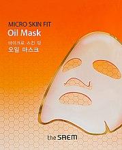 Духи, Парфюмерия, косметика Тканевая маска для лица - The Saem Micro Skin Fit Oil Mask
