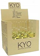 Духи, Парфюмерия, косметика Ампулы для волос - Kyo Restruct System Fiale Keratiniche Ristrutturanti