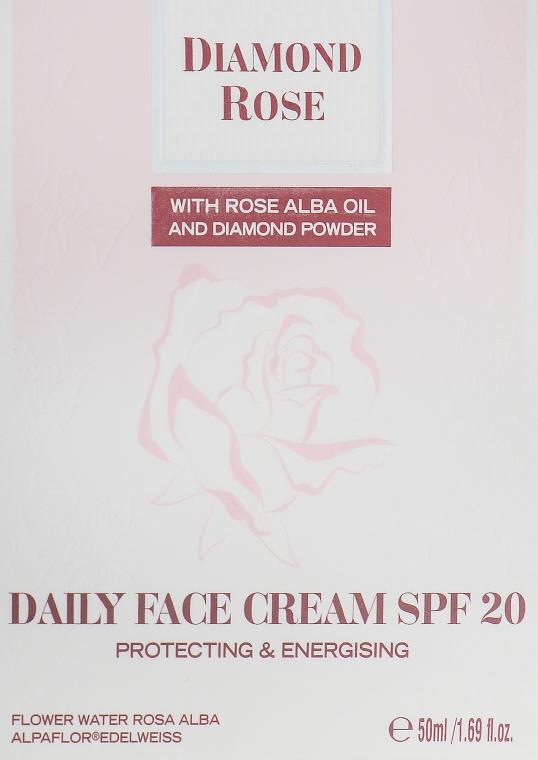 Дневной крем для лица - BioFresh Diamond Rose Daily Face Cream SPF20