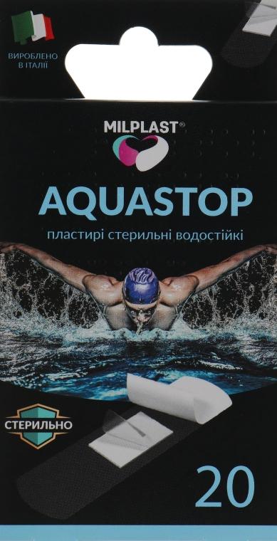 """Водостойкие пластыри """"Aquastop"""", 20 шт. - Milplast"""