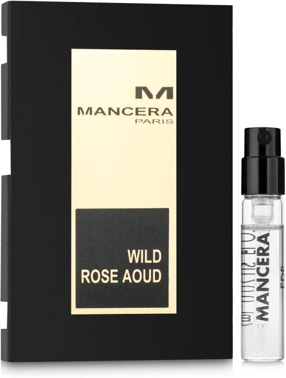 Mancera Wild Rose Oud - Парфюмированная вода (пробник)