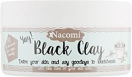 "Духи, Парфюмерия, косметика Глиняная маска для лица ""Черная глина"" - Nacomi Yay! Black Clay Detox Face Mask"