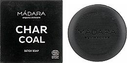 Духи, Парфюмерия, косметика Очищающее мыло для лица с углем - Madara Cosmetics Charcoal Detox Soap