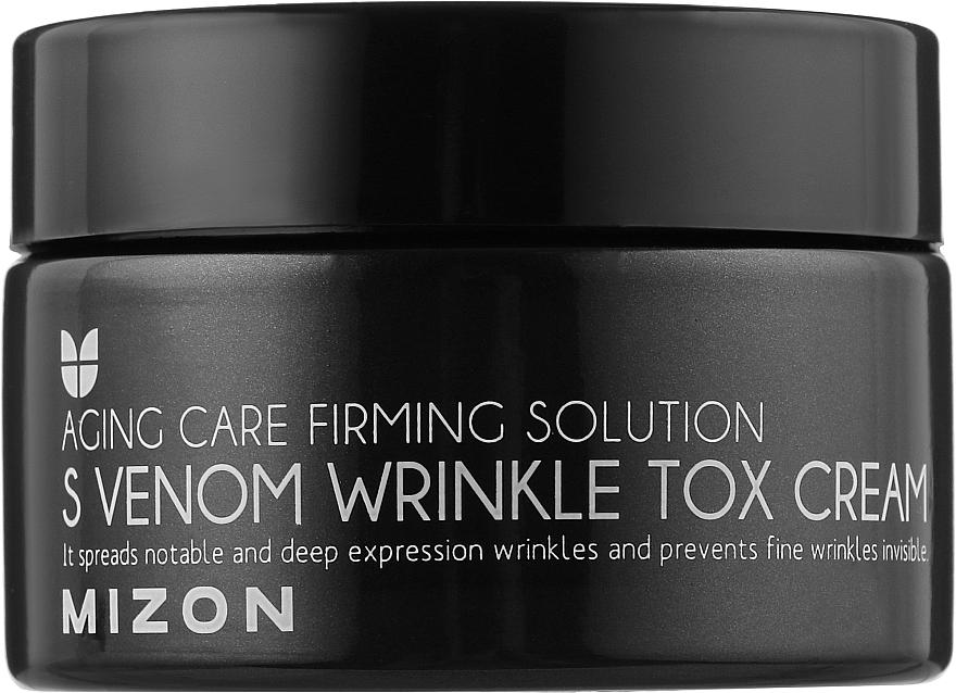 Змеиный крем с эффектом ботокса - Mizon S-Venom Wrinkle Tox Cream