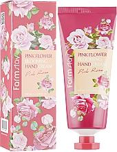 Духи, Парфюмерия, косметика Крем для рук с экстрактом розы - FarmStay Pink Flower Blooming Hand Cream Pink Rose