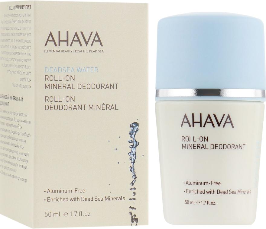 Минеральный роликовый дезодорант - Ahava Dead Sea Water Roll-On Mineral Deodorant