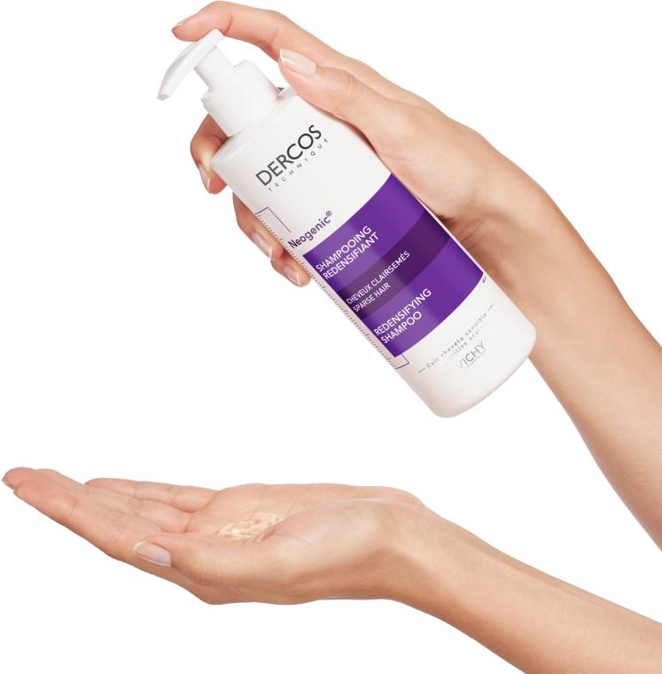 Укрепляющий шампунь для повышения густоты волос со Стемоксидином - Vichy Dercos Neogenic Redensifying Shampoo — фото N9