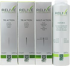 Духи, Парфюмерия, косметика Набор - Green Light Relive Scalp Wellness (sh/250ml + fluid/150ml + lotion/2x125ml)