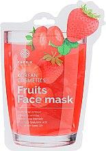 Духи, Парфюмерия, косметика Маска для лица увлажняющая с экстрактом клубники - Fabrik Cosmetology Fruits Face Mask