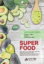 "Духи, Парфюмерия, косметика Тканевая маска для лица ""Авокадо"" - Eyenlip Super Food Avocado Mask"