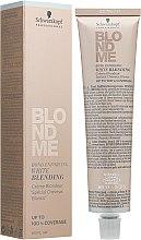 Духи, Парфюмерия, косметика Осветляющий бондинг-крем для седых волос - Schwarzkopf Professional Blondme Bond Enforcing White Blending