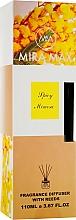 Духи, Парфюмерия, косметика Аромадиффузор - Mira Max Spicy Mimosa Fragrance Diffuser With Reeds