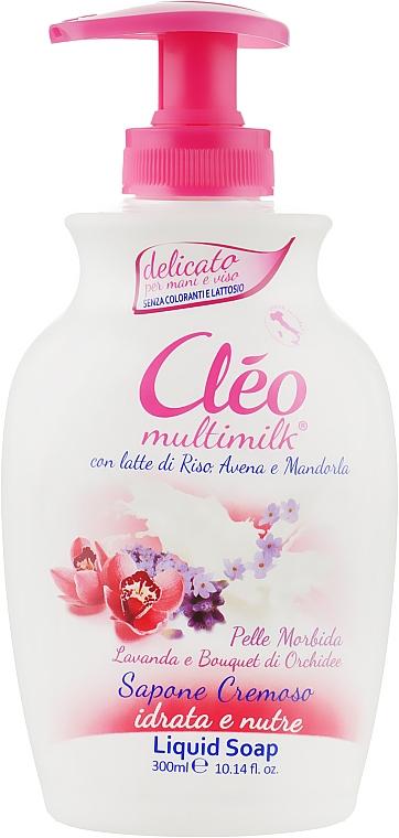 """Жидкое мыло """"Лаванда и Орхидея"""" - Cleo Liquid Soap"""