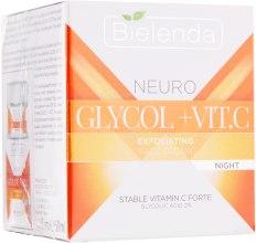 Духи, Парфюмерия, косметика Ночной крем-эксфолиант для лица - Bielenda Neuro Glycol + Vit.C Night Cream