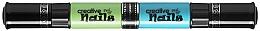 Духи, Парфюмерия, косметика Детский лак-карандаш для ногтей на водной основе, цвет морской волны + сочный голубой - Creative Nails