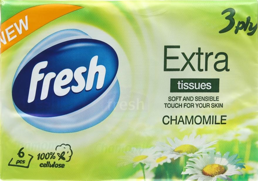 """Сухие салфетки """"Chamomile"""" - Fresh"""