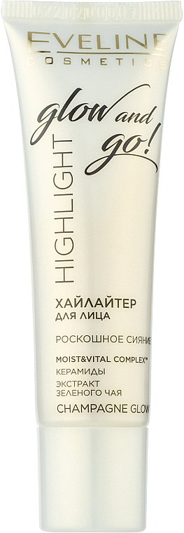 Хайлайтер для лица - Eveline Cosmetics Highlight Glow And Go