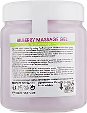 Крем-масло для массажа с черникой - Biotonale Bilberry Massage Gel — фото N6