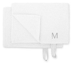 """Дорожный набор полотенец для лица, белые """"MakeTravel"""" - Makeup Face Towel Set — фото N2"""