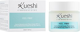 Духи, Парфюмерия, косметика Крем для жирной кожи лица - Kueshi Feel Free Crema Pieles Grasas Oil Free