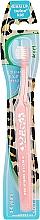 Духи, Парфюмерия, косметика Зубная щетка для детей (3-6 лет), красная - Ekulf Twice Junior
