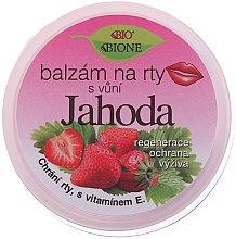 "Парфумерія, косметика Бальзам для губ ""Полуниця"" - Bione Cosmetics Lip Balm Strawberry"