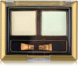 Духи, Парфюмерия, косметика Двойные тени для век - MaxMar Double Eyeshadow