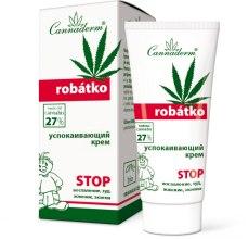 Духи, Парфюмерия, косметика Успокаивающий крем для ухода за зудящей, чувствительной или воспаленной кожей - Cannaderm Robatko Cream