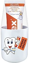 Духи, Парфюмерия, косметика Детская зубная паста + стаканчик, 0-5 лет - Elmex Peuter Lasten Hammastahna