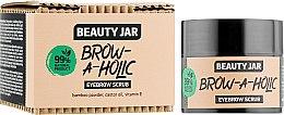 Духи, Парфюмерия, косметика Скраб для бровей - Beauty Jar Brow-A-Holic Eyebrow Scrub