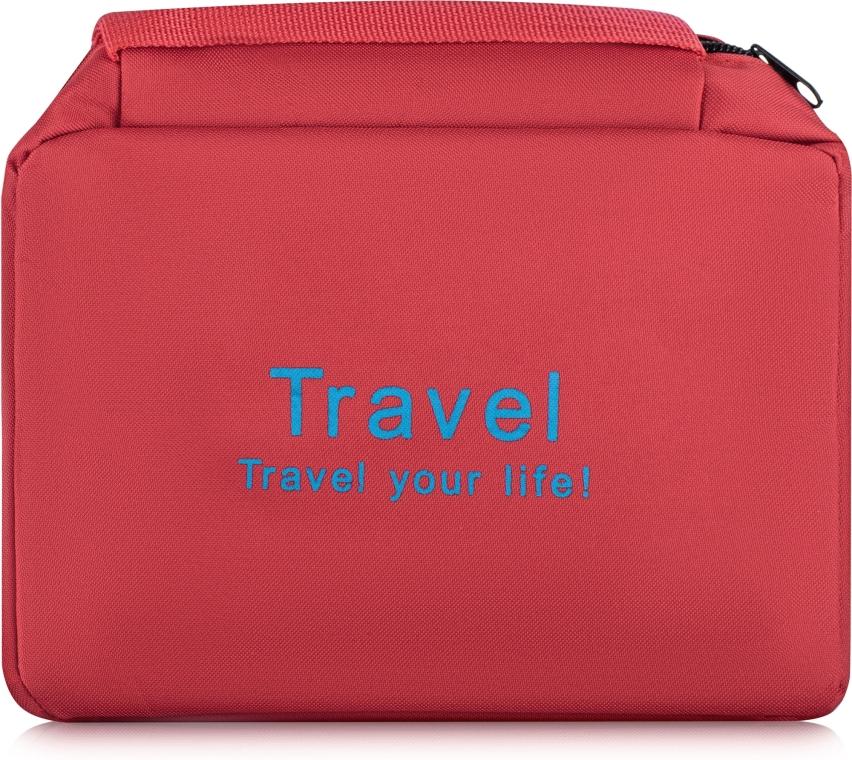 Органайзер-косметичка, красный - Mindo Travel Your Life