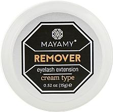 Духи, Парфюмерия, косметика Ремувер для ресниц кремовый - Mayamy Cream Type Remover