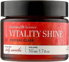 Духи, Парфюмерия, косметика Осветляющая маска-мусс для лица с витамином С - Phenome Sustainable Science Vitality Shine Mousse Mask