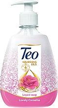 Духи, Парфюмерия, косметика Жидкое глицериновое мыло с увлажняющим действием - Teo Nourishing Oils Lovely Camellia Liquid Soap