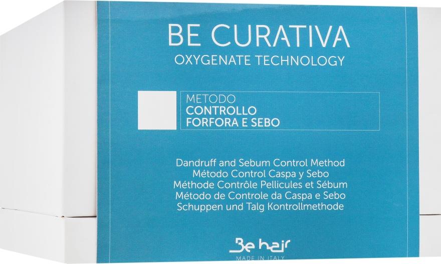"""Набор """"Контроль перхоти и себореи"""" - Be hair Be Curativa (smp/150ml + h/gel/3*30ml + h/ser/3*10ml)"""
