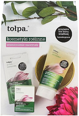 Набор - Tolpa Green (mask/2х6ml + cr/50ml + gel/150ml)
