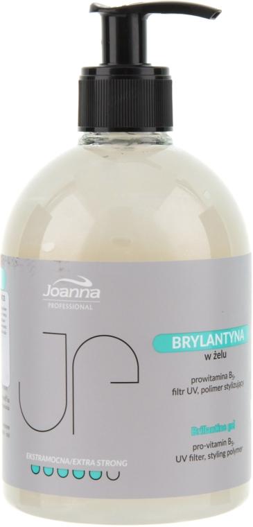 Гель-блеск для укладки волос сильной фиксации - Joanna Professiona Brillantine Gel