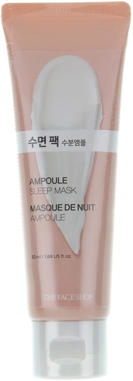 Ночная осветляющая маска для лица - The Face Shop Baby Face Ampoule Sleep Mask