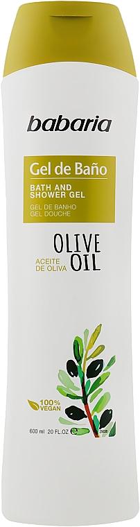 Крем-гель для ванны и душа - Babaria Fragrances Bath Gel With Olive Oil
