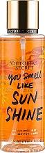 Духи, Парфюмерия, косметика Парфюмированный спрей для тела - Victoria's Secret You Smell Like Sunshine Fragrance Mist