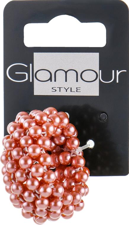 Резинка-браслет для волос, розовая - Glamour