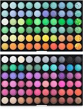 Духи, Парфюмерия, косметика Профессиональная палетка теней для век 120 цветов - King Rose 01