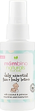 Духи, Парфюмерия, косметика Лосьон детский для ежедневного ухода за кожей лица и тела - Mambino Organics Baby's Best Daily Essential Lotion