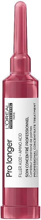 Концентрат для восстановления плотности поверхности волос по длине - L'Oreal Professionnel Serie Expert Pro Longer Ends Filler Concentrate