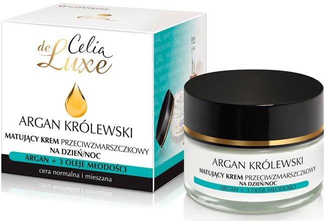 Крем матирующий для лица от морщин - Celia De Luxe Royal Argan Mattifying Cream