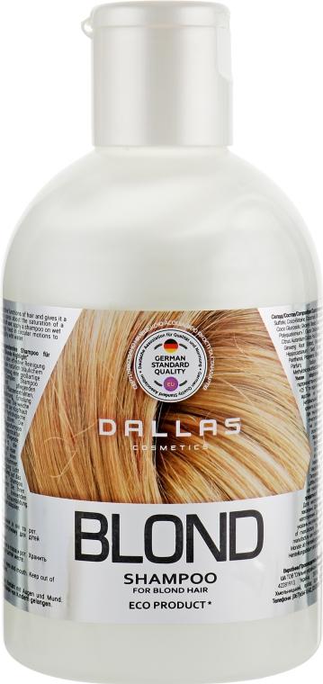 Увлажняющий шампунь для светлых волос - Dallas Blonde Highlight