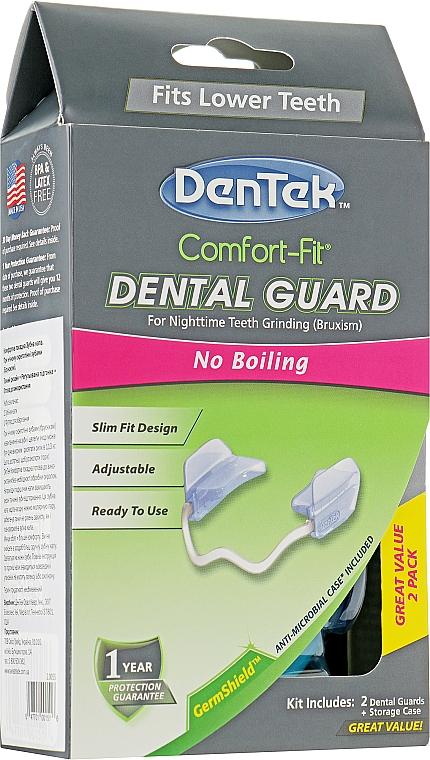 "Капа для зубов ""Комфортная посадка"" - DenTek Comfort-Fit Dental Guard"