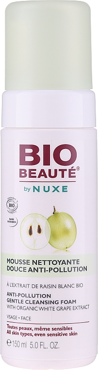 Пенка для умывания - Nuxe Bio Beaute Anti-Pollution Cleansing Foam