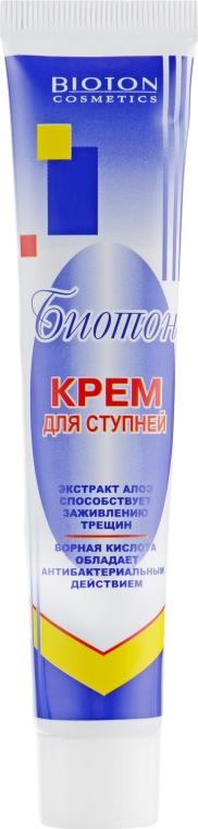 Крем для ступней противогрибковый, противовоспалительный - Bioton Cosmetics